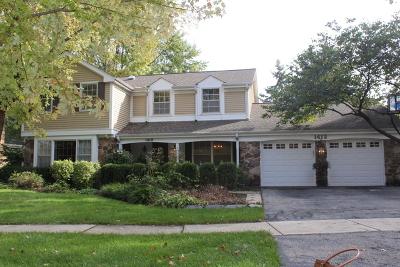 Naperville Single Family Home Contingent: 1412 Heatherton Drive