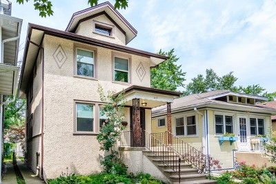 Oak Park Single Family Home For Sale: 1117 Lyman Avenue