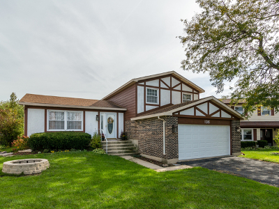 Carol Stream Single Family Home Contingent: 135 Carriage Drive
