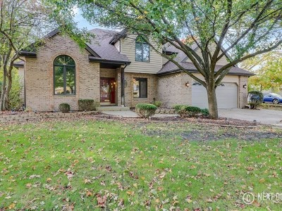 Plainfield Single Family Home Contingent: 16512 Winding Creek Road