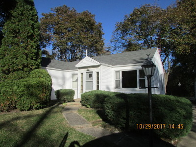 Palatine Single Family Home For Sale: 1661 North Hicks Road