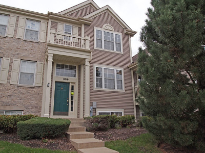 Pingree Grove Condo/Townhouse For Sale: 886 Galway Lane
