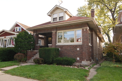 Oak Park Single Family Home For Sale: 740 South Ridgeland Avenue