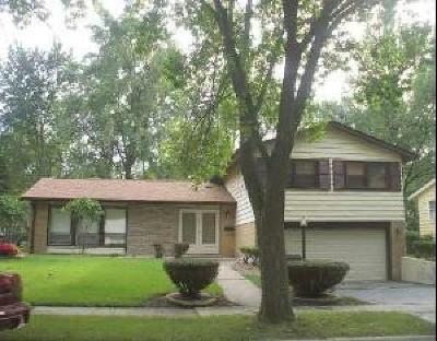 Hazel Crest  Single Family Home For Sale: 2701 Turtlecreek Drive