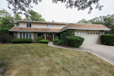 Oak Brook Single Family Home Contingent: 18w723 Avenue Chateaux North