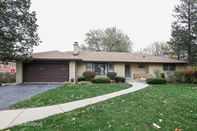 Downers Grove Single Family Home For Sale: 4319 Florence Avenue
