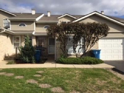 Alsip  Condo/Townhouse For Sale: 4404 West 127th Place