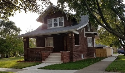 Melrose Park Single Family Home Contingent: 918 Broadway Street