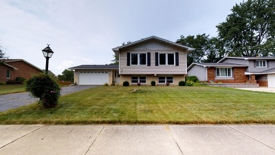 Downers Grove Single Family Home For Sale: 1840 Bolson Drive