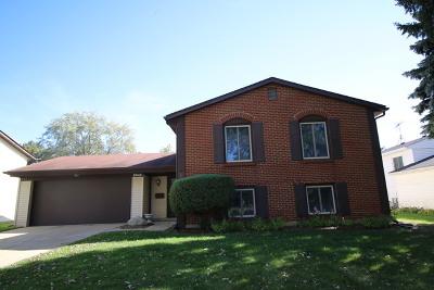 Hanover Park Single Family Home Price Change: 6945 Plumtree Lane