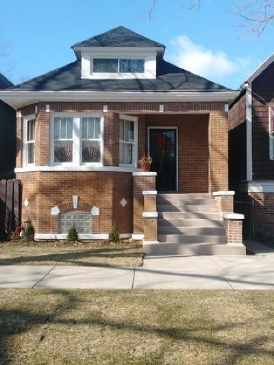 Single Family Home For Sale: 8128 South Muskegon Avenue