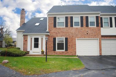 Schaumburg Condo/Townhouse For Sale: 3 Bright Ridge Drive