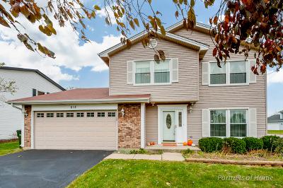 Carol Stream Single Family Home Contingent: 618 Bluff Street