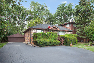 Tinley Park Single Family Home For Sale: 5540 177th Street
