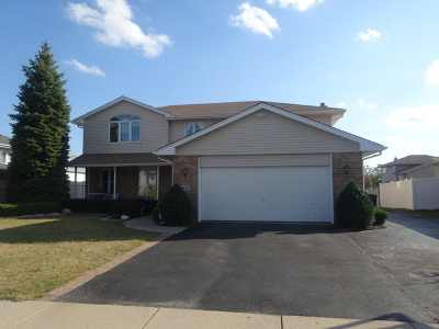 Tinley Park Single Family Home For Sale: 8125 West 161st Place