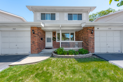 Schaumburg Condo/Townhouse For Sale: 112 Wiltshire Court