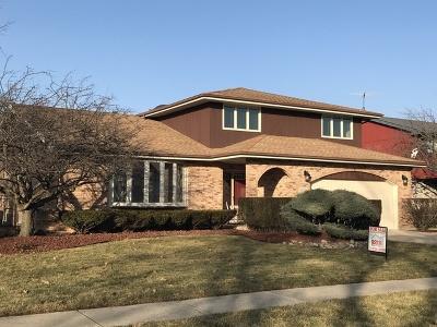 Homer Glen Single Family Home For Sale: 13116 West Pin Oak Drive