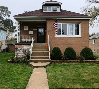 Evergreen Park Single Family Home For Sale: 9212 South Albany Avenue South