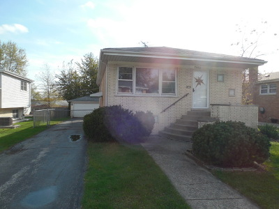 Tinley Park Single Family Home Contingent: 7451 173rd Place