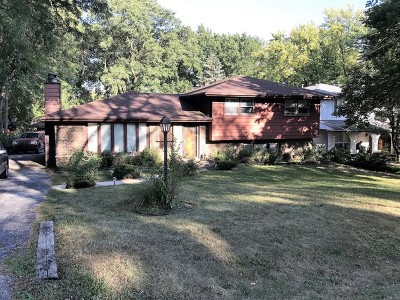 Palos Heights, Palos Hills Single Family Home Contingent: 9921 South 82nd Court