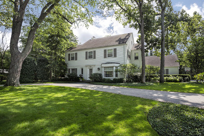 Highland Park Single Family Home For Sale: 422 Woodland Road