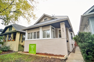 Oak Park Single Family Home Price Change: 802 North Taylor Avenue