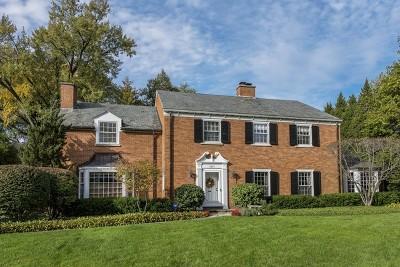 Wilmette Single Family Home For Sale: 1051 Seneca Road