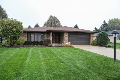 Willowbrook Single Family Home Contingent: 16w740 90th Street