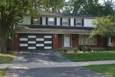 Flossmoor  Single Family Home For Sale: 3706 Beech Street
