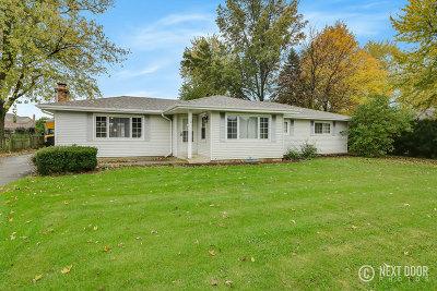 Mokena Single Family Home For Sale: 12605 Francis Road