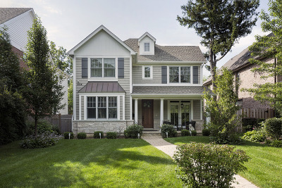 Winnetka Single Family Home For Sale: 1014 Pine Street