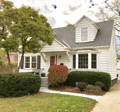 Naperville Single Family Home Contingent: 491 South Julian Street