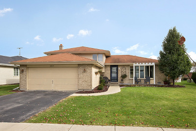 Tinley Park Single Family Home Price Change: 16915 84th Avenue