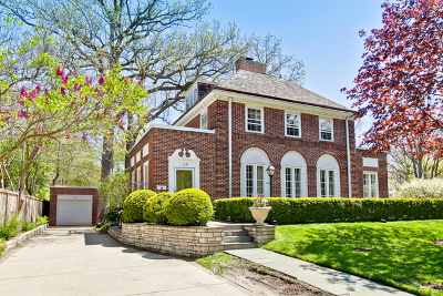 Winnetka Single Family Home For Sale: 109 Fuller Lane