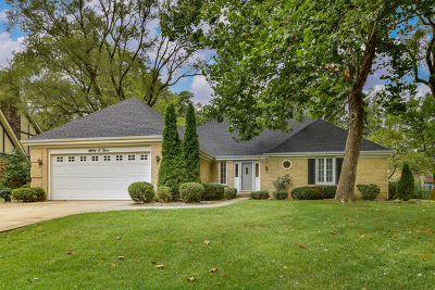 Downers Grove Single Family Home Contingent: 8003 Winter Circle