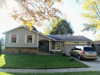 Elgin Single Family Home For Sale: 1348 Sheffield Drive