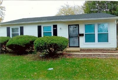 Hazel Crest Single Family Home Contingent: 3621 Tamarind Lane
