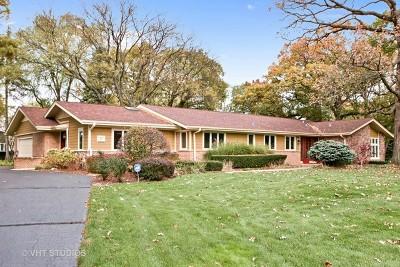 Palos Park Single Family Home For Sale: 17 Fox Lane
