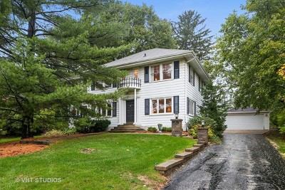 Clarendon Hills Single Family Home Contingent: 50 Norfolk Avenue