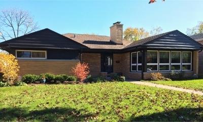 Niles Single Family Home Contingent: 8311 North Ottawa Avenue