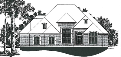 St. Charles Single Family Home For Sale: Lot #56 Goldenrod Drive