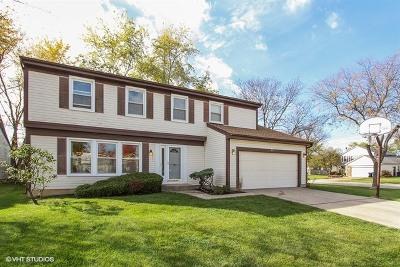 Buffalo Grove Single Family Home Price Change: 513 Ronnie Drive East