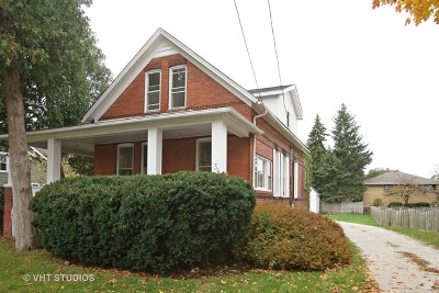Roselle Single Family Home Price Change: 34 South Roselle Road