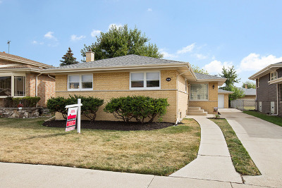 Evergreen Park Single Family Home Contingent: 8937 South Richmond Avenue