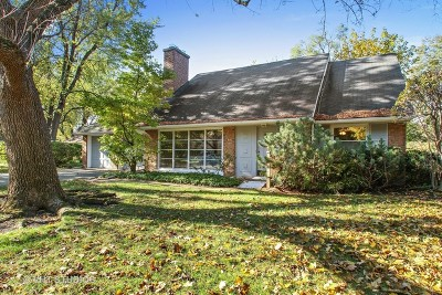 Wilmette Single Family Home For Sale: 3131 Sprucewood Road