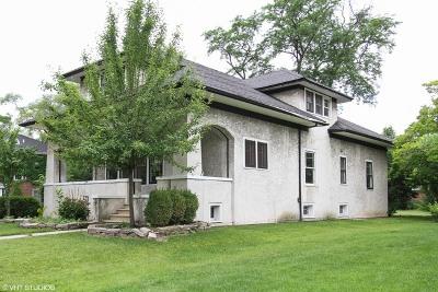 Flossmoor  Single Family Home For Sale: 852 Burns Avenue