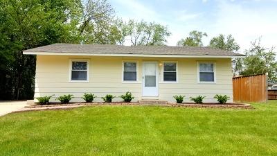 Streamwood Single Family Home For Sale: 118 Cedar Circle