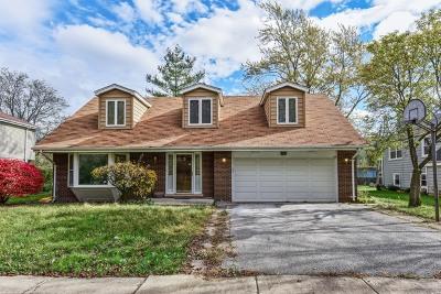 Flossmoor  Single Family Home For Sale: 1723 Tina Lane