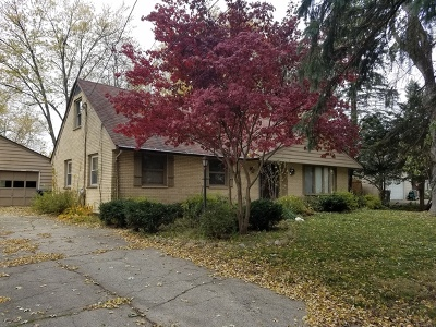 Elgin Single Family Home Contingent: 168 South Airlite Street