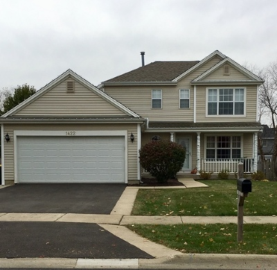Carol Stream Single Family Home Contingent: 1422 Magnolia Way